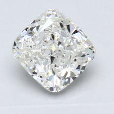 1.25-Carat Cushion Diamond Very Good H VVS1