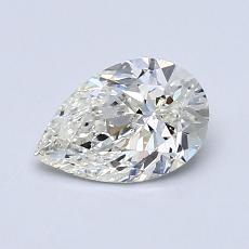 Recommended Stone #3: 0,80-Carat Pear Cut Diamond