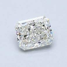 0.82-Carat Radiant Diamond Very Good J VVS1