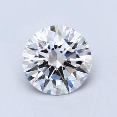 1,01-Carat Round Diamond Ideal E VS2