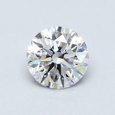 0.71 Carat 圓形 Diamond 理想 F VVS1