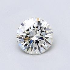 0.70 Carat 圆形 Diamond 理想 I VVS2