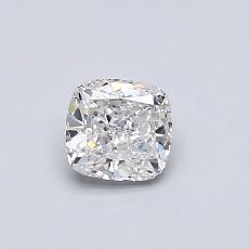 0.50-Carat Cushion Diamond Very Good F VS2