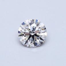 0,41-Carat Round Diamond Ideal G SI1