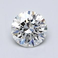 1.00 Carat Redondo Diamond Ideal G VS1