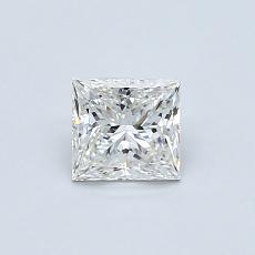 オススメの石No.2:0.59カラットのプリンセスカットダイヤモンド