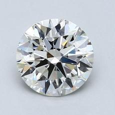 1,51-Carat Round Diamond Ideal J VVS2