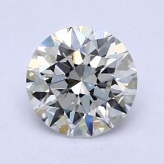 2.02-Carat Round Diamond Ideal G VS1