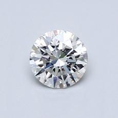 0.50 Carat 圓形 Diamond 理想 G VS1