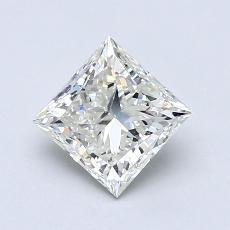 Pierre recommandée n°1: Diamant taille princesse 1,01 carat