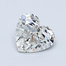0.91 Carat Corazõn Diamond Muy buena G VS2