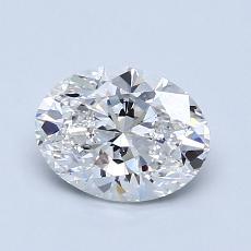 1.01-Carat Oval Diamond Very Good F VS2