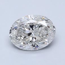 目标宝石:1.20克拉椭圆形切割钻石