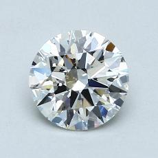 1.00-Carat Round Diamond Ideal G VS1