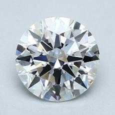 1.52 Carat 圆形 Diamond 理想 D VS1