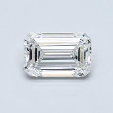 Recommended Stone #2: 0,80-Carat Emerald Cut Diamond
