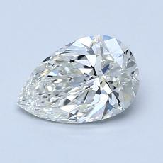 Recommended Stone #1: 1.00-Carat Pear Cut Diamond