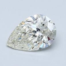 1,02-Carat Pear Diamond Very Good K SI2