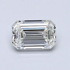 Piedra recomendada 4: Diamante de talla esmeralda de 0.91 quilates