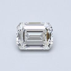 Recommended Stone #3: 0,59-Carat Emerald Cut Diamond