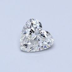 0.50 Carat Corazõn Diamond Muy buena I VS2