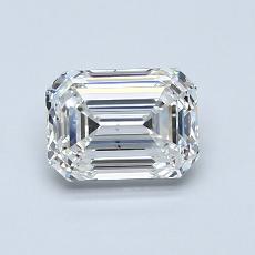 1.00 Carat Esmeralda Diamond Muy buena H VS2