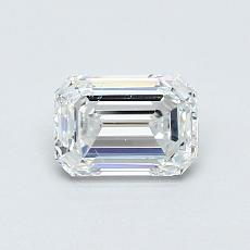 Recommended Stone #2: 0,71-Carat Emerald Cut Diamond