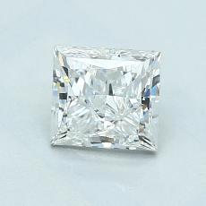 Pierre recommandée n°2: Diamant taille princesse 1,00 carat