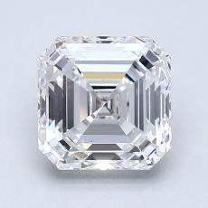 推薦鑽石 #4: 1.70  克拉上丁方形鑽石