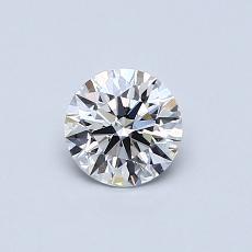 0,51 Carat Rond Diamond Idéale Astor F VVS1