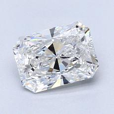 Recommended Stone #3: 1.40-Carat Radiant Cut Diamond