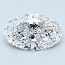 Recommended Stone #2: 1.90-Carat Oval Cut Diamond