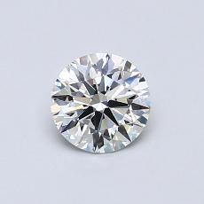 Recommended Stone #1: 0.57-Carat Round Cut Diamond
