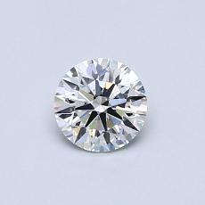 Recommended Stone #1: 0.43-Carat Round Cut Diamond
