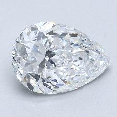 Recommended Stone #4: 1.41-Carat Pear Cut Diamond