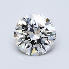 1.01 Carat 圆形 Diamond 理想 G VS1