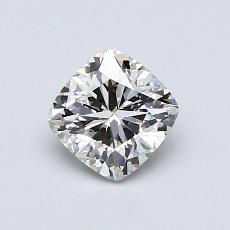 Pierre recommandée n°3: Diamant taille coussin 0,82 carats