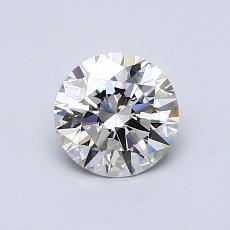 0.77 Carat 圆形 Diamond 理想 I VS2