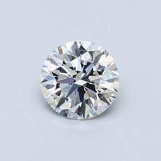 Recommended Stone #3: 0.59-Carat Round Cut Diamond