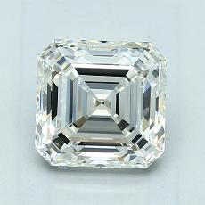Recommended Stone #4: 1,70-Carat Asscher Cut Diamond
