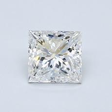 Recommended Stone #4: 0,80-Carat Princess Cut Diamond