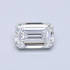 Recommended Stone #4: 0.59-Carat Emerald Cut Diamond