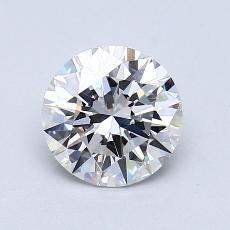 1.05-Carat Round Diamond Ideal G VVS1