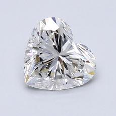 Recommended Stone #3: 1,13-Carat Heart Cut Diamond