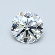 Recommended Stone #1: 0.91-Carat Round Cut Diamond