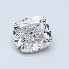 1.00-Carat Cushion Diamond Very Good G VVS1