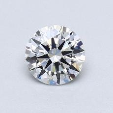Pierre recommandée n°2: Diamant taille ronde 0,71 carat
