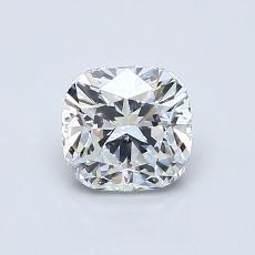 Recommended Stone #2: 0.90-Carat Cushion Cut Diamond