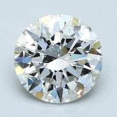 Recommended Stone #3: 2.50-Carat Round Cut Diamond