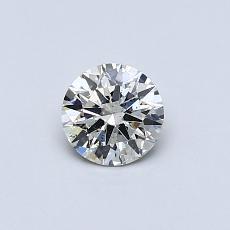 オススメの石No.3:0.41カラットラウンドカットダイヤモンド